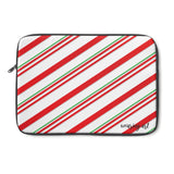 Candy Cane Laptop Sleeve