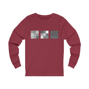 "Women's, Men's, and Teen's ""Relax"" Jersey Long Sleeve Tee"