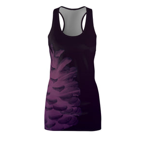 Plum Pinecone Women's Racerback Dress