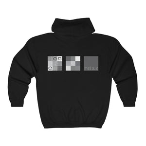 "Women's, Men's, and Teen's ""Relax"" Heavy Blend™ Full Zip Hooded Sweatshirt"