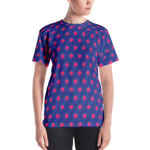 Women's Rose Lattice T-shirt