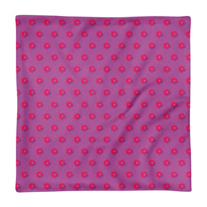 Roses on Mauve Premium Pillowcase