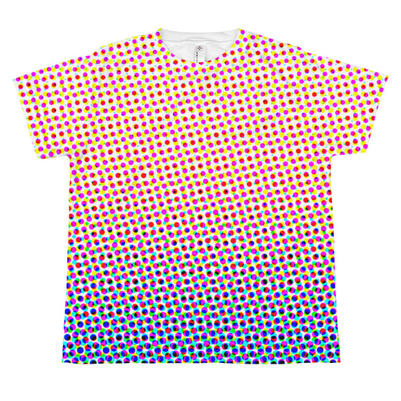 Youth Halftone #1 T-shirt - Red White Blue