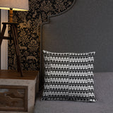 Ionic-patterned Pillow and Case
