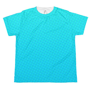 Youth Aqua Halftone T-shirt
