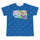 Jammie Cats™ Youth Hearts T-shirt