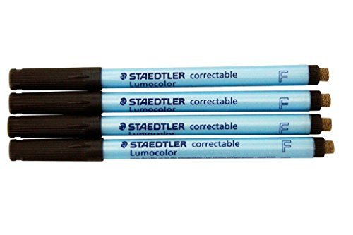 Lumocolor Correctable Fine Point Pens