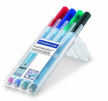 Load image into Gallery viewer, Staedtler Lumocolor correctable Pens
