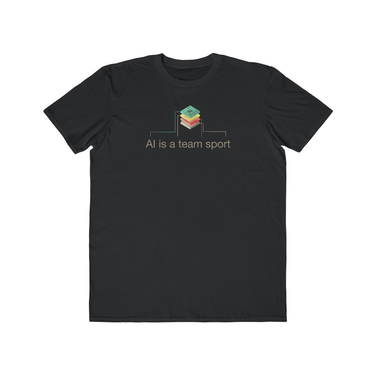 AI IS A TEAM SPORT - STACK SHIRT