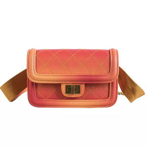 NEW 🎉OMBRE FANNY PACK 🎉PINK ORANGE BLACK Quick Ship Item🎉