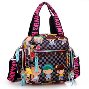 New   Harajuku Doll waterproof nylon handbag ladies bag one shoulder cross-body bags Handbags mom