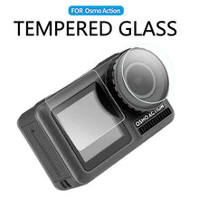 Load image into Gallery viewer, Telesin Tempered Glass Screen Protector for DJI Osmo Action Camera