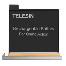 Load image into Gallery viewer, Telesin Rechargeable Battery for DJI Osmo Action Camera
