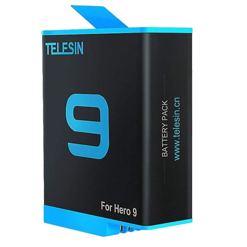 Telesin Rechargeable Battery for GoPro Hero 9 Action Camera