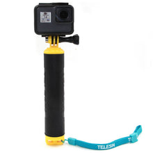 Load image into Gallery viewer, Telesin Floaty Monopod Rubber Hand Grip Floater