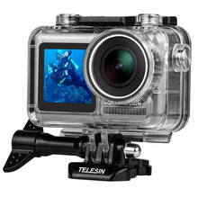 Load image into Gallery viewer, Telesin Waterproof Case for DJI Osmo Action Camera