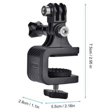 Load image into Gallery viewer, Telesin Skateboard Surfboard Clip Mount for Action Cameras