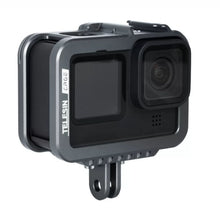 Load image into Gallery viewer, Telesin Aluminum Frame  Cage for GoPro Hero 9 Camera