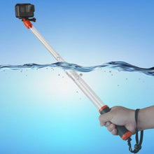 Load image into Gallery viewer, Telesin Aquapod Extendable Floating Monopod Pole for Action Cameras