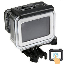 Load image into Gallery viewer, Telesin Waterproof Case for GoPro Hero 5, Hero 6, Hero 7 Cameras with Touch Backdoor