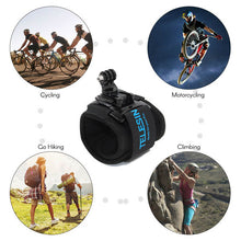 Load image into Gallery viewer, Telesin 360-Degree Wrist Strap for Action Cameras
