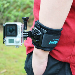 Telesin 360-Degree Wrist Strap for Action Cameras