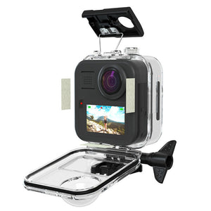 Telesin 45M Waterproof Case for GoPro Max Touch Screen with Anti-Fog Strips