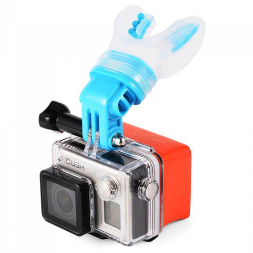 Telesin Mouthpiece Tooth Holder Bite Mount Kit for Action Cameras