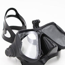Load image into Gallery viewer, Telesin V2 Goggles Diving Mask with Built-in Camera Mount