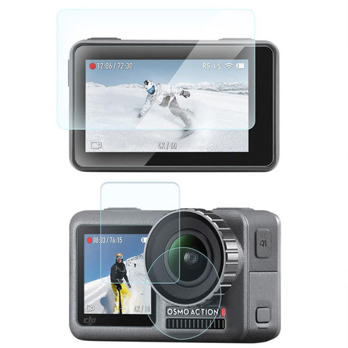 Telesin Tempered Glass Screen Protector for DJI Osmo Action Camera