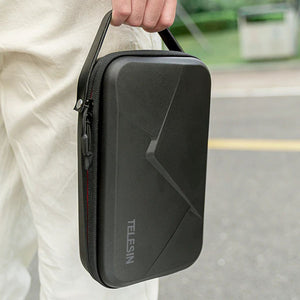 Telesin Universal Hard Case Carrying Bag for Action Cameras
