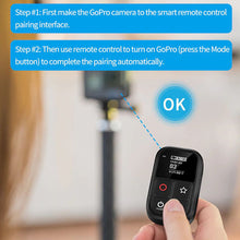 Load image into Gallery viewer, Telesin Remote Shutter with Display for GoPro Hero Action Cameras