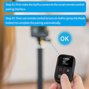 Telesin Remote Shutter with Display for GoPro Hero Action Cameras