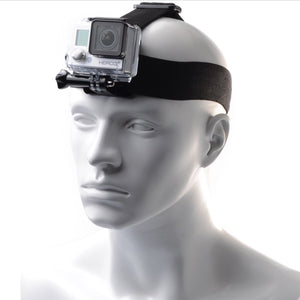 Telesin Head Strap with Phone Holder for Action Cameras and Smartphones