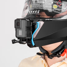 Load image into Gallery viewer, Telesin Helmet Chin Strap Mount with J-Hook for Action Cameras