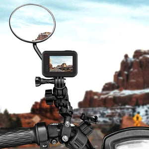 Telesin 360-Degree Motorcycle Rearview Mirror Mount