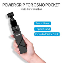 Load image into Gallery viewer, Telesin Charging Base Powerbank with Tripod for DJI Osmo Pocket