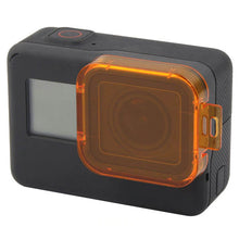 Load image into Gallery viewer, Telesin Diving Filter Direct to GoPro Hero 5, Hero 6, Hero 7 Cameras