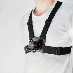 Telesin Chest Elastic Harness Belt Strap for Action Cameras