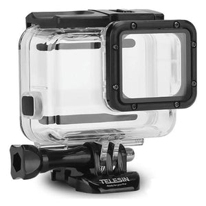 Telesin Waterproof Case for GoPro Hero 5, Hero 6, Hero 7 Cameras with Touch Backdoor