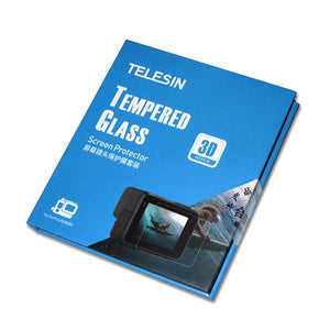 Telesin Tempered Glass Screen Protector for GoPro Hero 5, Hero 6, Hero 7 Action Cameras