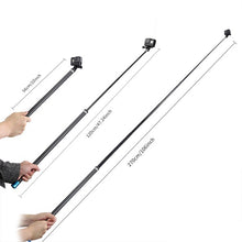 Load image into Gallery viewer, Telesin Extended Edition Super Long 270cm Monopod Pole for Action Cameras