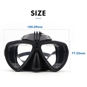 Telesin Goggles Diving Mask with Built-in Camera Mount