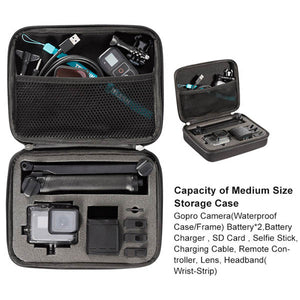 Telesin Carrying Bag for Action Cameras and Accessories