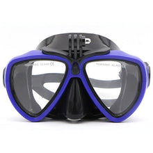 Load image into Gallery viewer, Telesin Goggles Diving Mask with Built-in Camera Mount