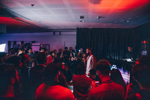 Mvrs at the Summer Stories Album Event: The first independent album listening party in Doha.