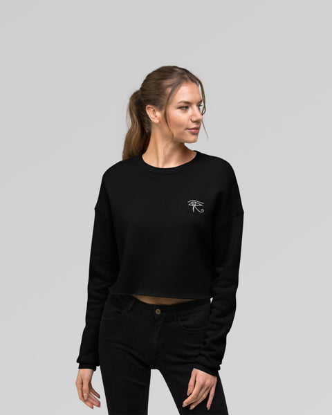 Essential Crop Sweater - Black - MVSRI