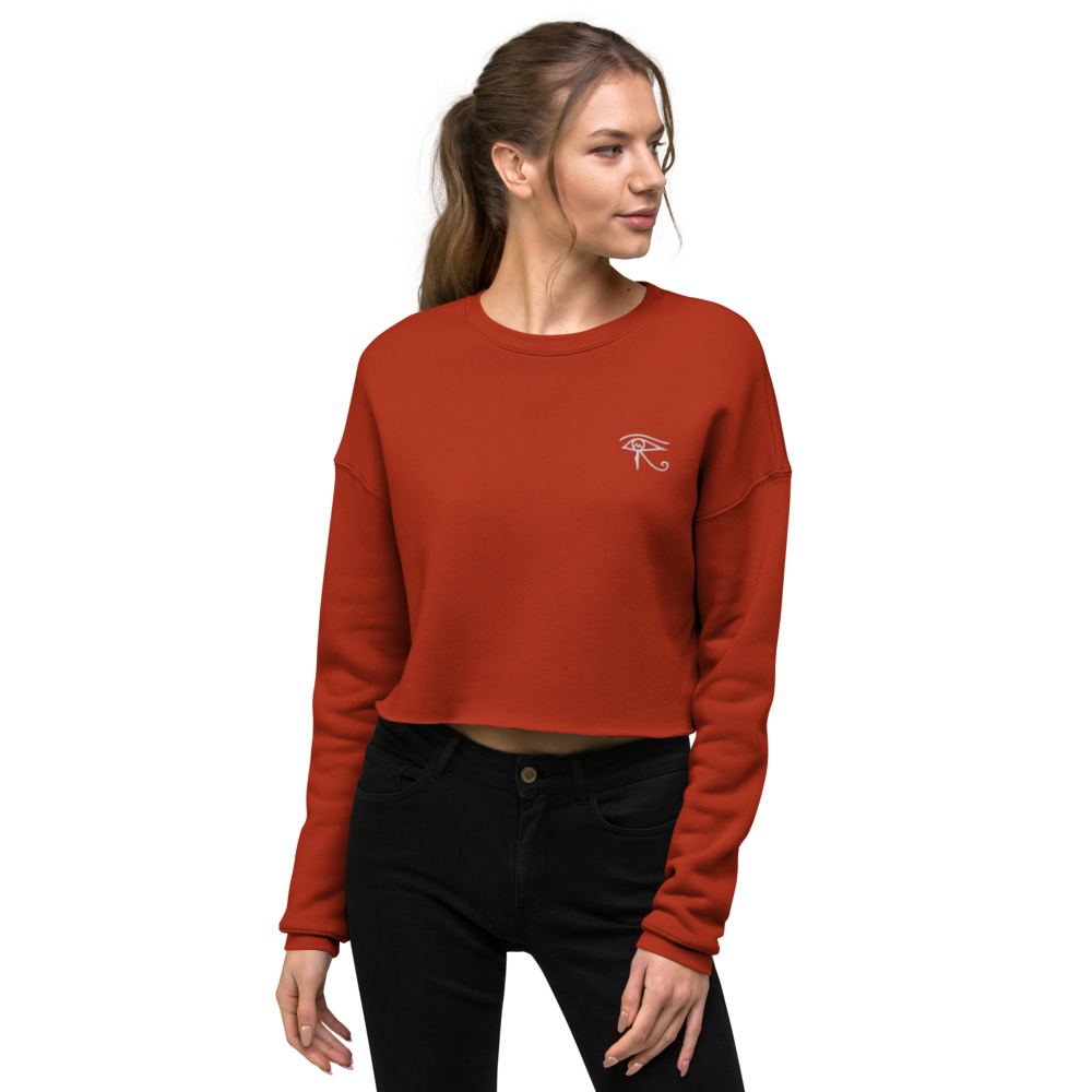 Mvsri Vibrant Crop Sweater - MVSRI