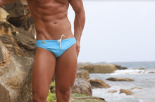 Load image into Gallery viewer, Light Blue Speedos Mens Swimwear