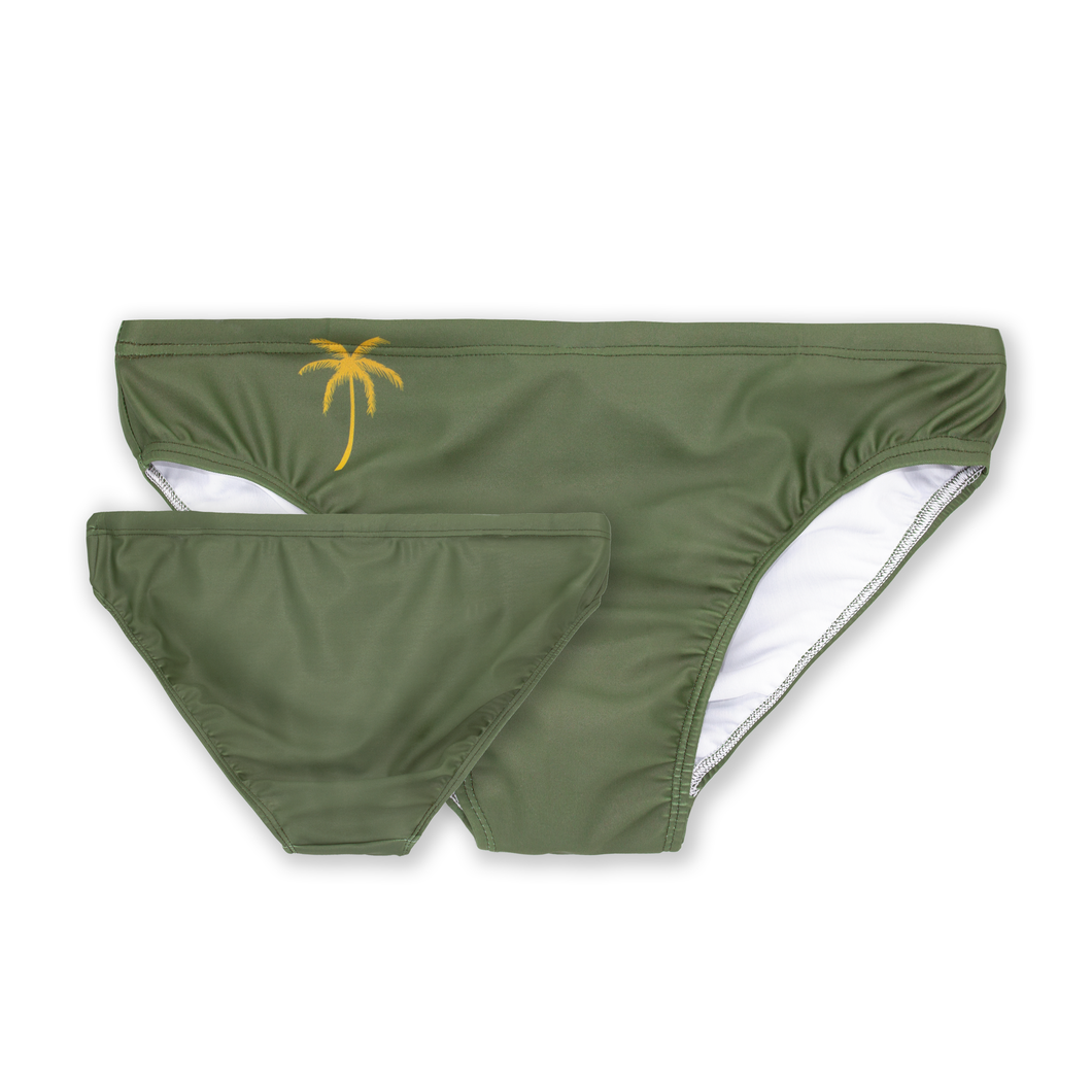 Green Speedos Mens Swimwear